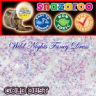 SNAZAROO FACE PAINT GLITTER GEL GOLD DUST 12ML TUB